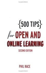 Cover of: 500 tips for open and online learning