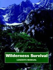 Cover of: Wilderness Survival, Leader