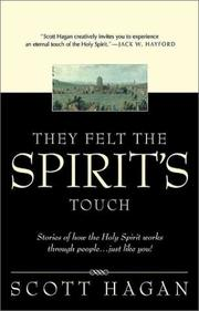 Cover of: They Felt the Spirit