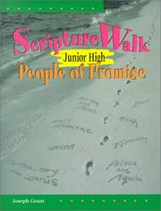 Cover of: Scripturewalk Junior High: People of Promise (Scripture Walk: Bible-Based Sessions for Teens)
