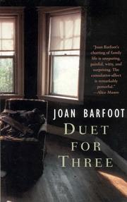 Cover of: Duet for Three (US)