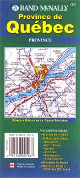 Cover of: Rand McNally Province De Quebec |