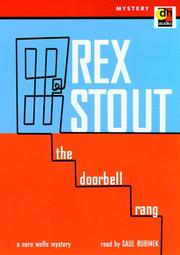 Cover of: The Doorbell Rang (Nero Wolfe Mysteries (Audio)) | Rex Stovt