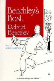 Cover of: Benchley's Best