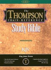 Cover of: Thompson Chain Reference Bible-KJV-Handy Size |