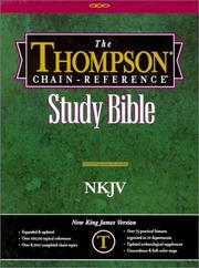 Cover of: Thompson Chain-Reference Study Bible |