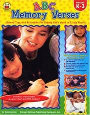 Cover of: ABC Memory Verses: Games, Tips, and Activities for Hiding God