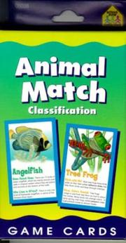 Cover of: Animal Match | School Zone Publishing Company Staff