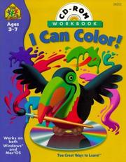 Cover of: I Can Color Interactive Workbook (I Can Color Interactive Workbook with CD-ROM) | School Zone Publishing Company Staff