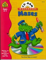 Cover of: Preschool Mazes (Preschool Mazes Interactive Workbook with CD-ROM) | School Zone Publishing Company Staff