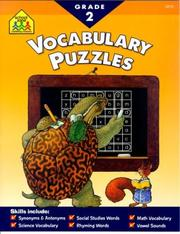 Cover of: Vocabulary Puzzles | Judith Giglio