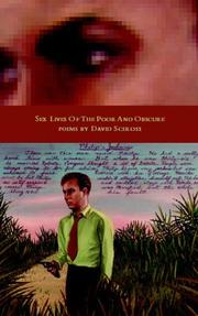 Cover of: Sex Lives of the Poor and Obscure