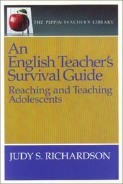 Cover of: An English Teacher's Survival Guide (The Pippin Teacher's Library)