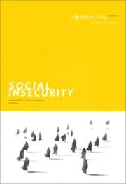 Cover of: Social Insecurity |