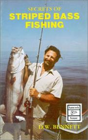 Cover of: Secrets of Striped Bass Fishing (Hancock House Fishing Series)