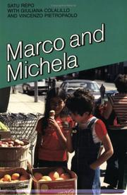 Cover of: Marco and Michela (Where We Live Series) | Satu Repo
