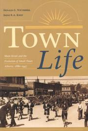 Cover of: Town Life | Donald G. Wetherell