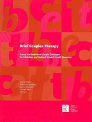 Brief Couples Therapy by Gloria Chaim, Joanne Shenfeld, Sharon Armstrong