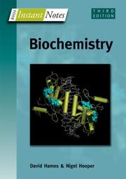 Cover of: Biochemistry | B. D. Hames