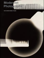 Cover of: Modernist Photographs from the National Gallery of Canada | Ann Thomas