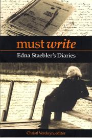 Cover of: Must Write