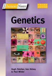 Cover of: Instant Notes in Genetics (Bios Instant Notes)