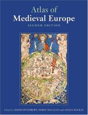 Cover of: The Atlas of Medieval Europe