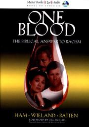 Cover of: One Blood Audio (Ken Ham