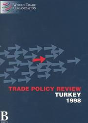 Trade Policy Review: Turkey