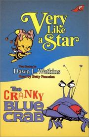 Cover of: Very Like a Star/The Cranky Blue Crab
