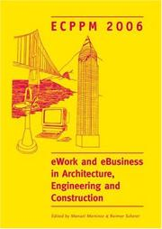 Cover of: eWork and eBusiness in Architecture, Engineering and Construction |