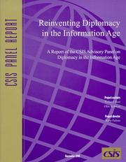Cover of: Reinventing Diplomacy in the Information Age (CSIS Panel Reports) (Csis Panel Reports) |