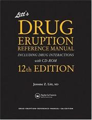 Cover of: Litt's Drug Eruption Reference Manual Including Drug Interactions with CD-ROM, Twelfth Edition (Litt's Drug Eruption Reference Manual: Including Drug Interactions)