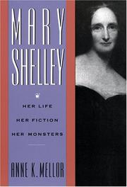 Cover of: Mary Shelley