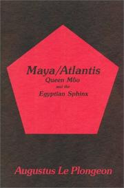 Cover of: Maya Atlantis | Augustus Leplonge