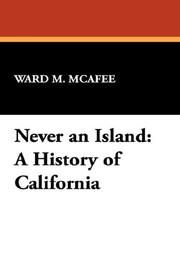 Cover of: Never an Island | Ward M. McAfee
