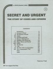 Secret and urgent by Fletcher Pratt