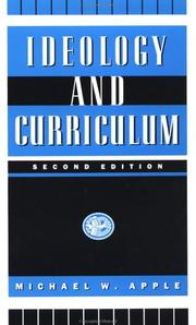 Cover of: Ideology and Curriculum