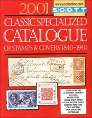 Cover of: Scott 2001 Classic Specialized Catalogue |