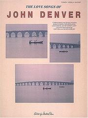 Cover of: Love Songs Of John Denver P/v/g |