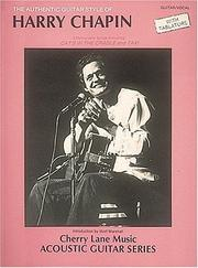 Cover of: Harry Chapin - Authentic Guitar Style | Harry Chapin