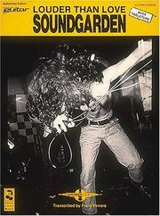 Cover of: Soundgarden - Louder Than Love | Soundgarden