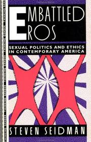 Cover of: Embattled eros | Steven Seidman