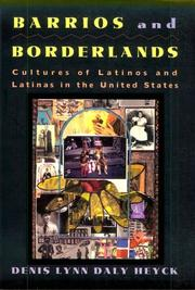 Cover of: Barrios and Borderlands | Denis Heyck