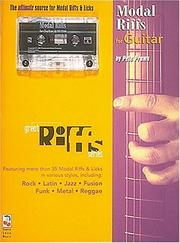 Cover of: Great Model Riffs for Guitar