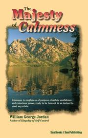 Cover of: The Majesty of Calmness
