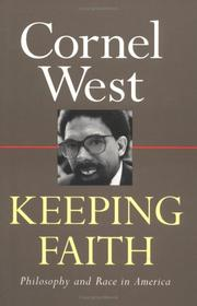 Cover of: Keeping faith | Cornel West