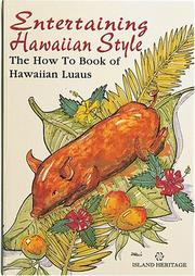 Cover of: Entertaining Hawaiian Style