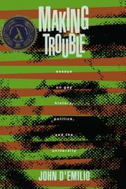 Cover of: Making trouble