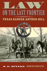 Law on the Last Frontier by S. E. Spinks